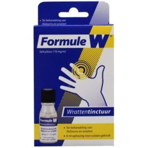 Formule W Formule W Wrattentinctuur (6ml)