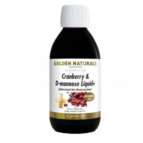 Golden Naturals Cranberry D mannose liquid (500ml)
