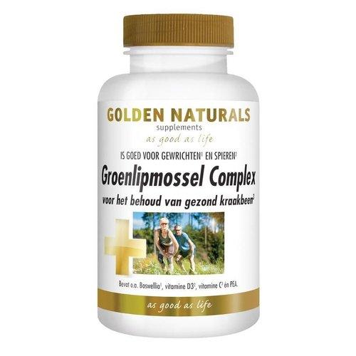 Golden Naturals Groenlipmossel complex (60ca)