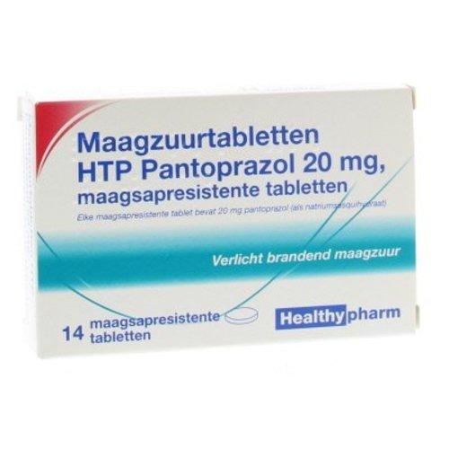 Healthypharm Healthypharm Pantoprazol 20 mg (14st)