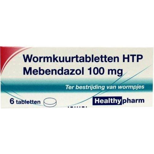 Healthypharm Healthypharm Mebendazol/wormkuur (6tb)