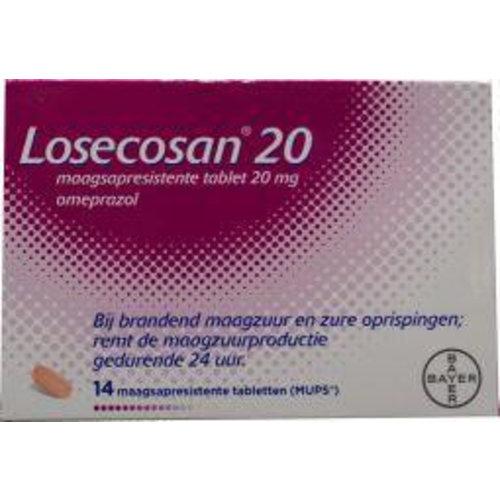 Losecosan Omeprazol 20 mg (14tb)