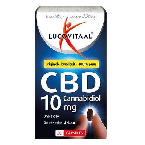 Lucovitaal Lucovitaal CBD 10 mg forte (30ca)
