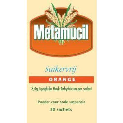 Metamucil Metamucil Orange suikervrij (30sach)