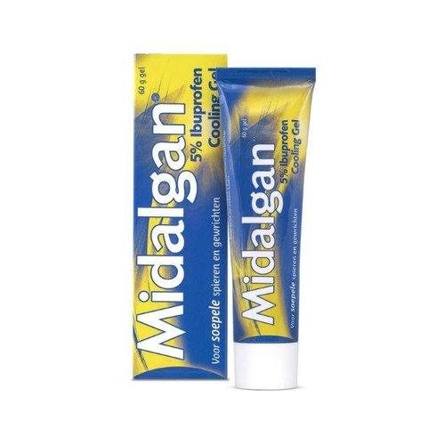 Midalgan Midalgan 5% Ibuprofen cooling gel (60g)