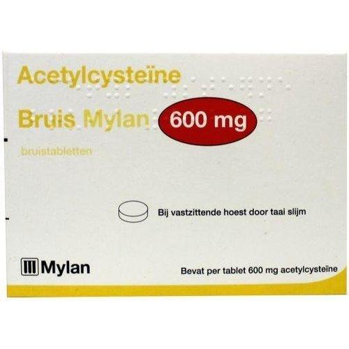 Mylan Mylan Acetylcysteine 600 mg bruis (30tb)