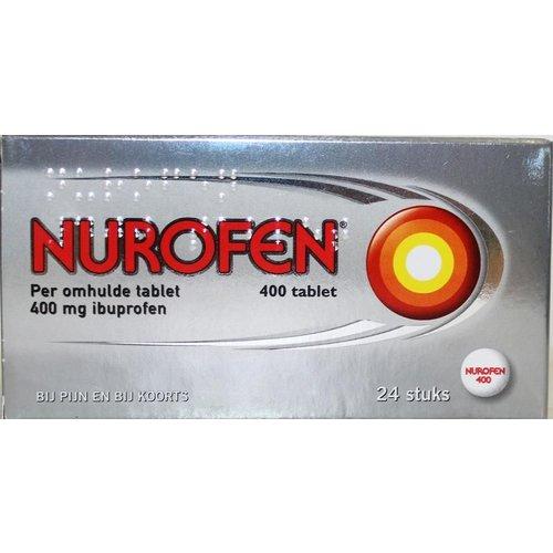 Nurofen Nurofen 400 mg Omhulde tabletten (24tb)