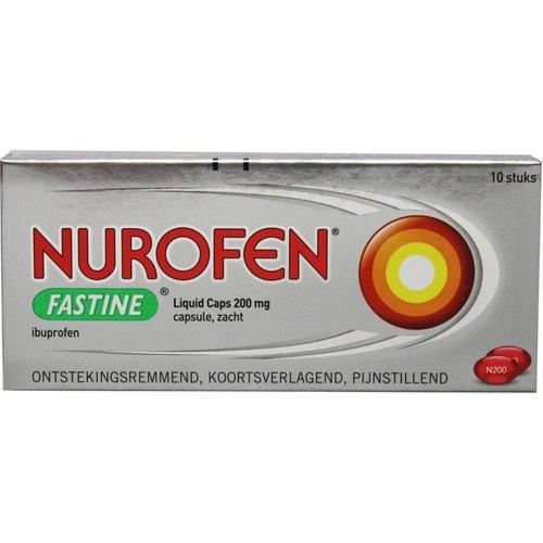 Nurofen Nurofen Fastine liquid caps 400 mg ibuprofen (20ca)