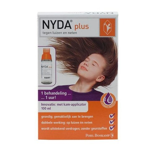 Nyda Nyda Plus met kam applicator (100ml)