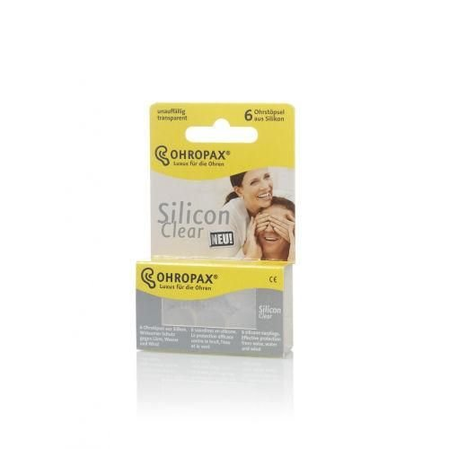 Ohropax Ohropax Silicon clear (6st)