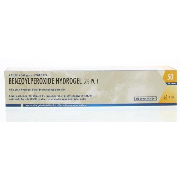 Benzoylperoxide 5% Acne/Jeugdpuistjes hydrogel (100g)
