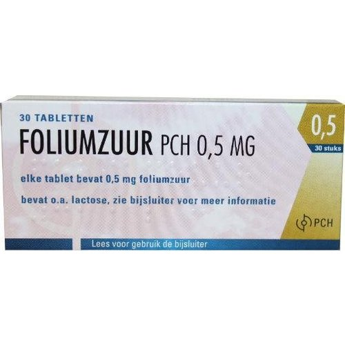 Pharmachemie Pharmachemie Foliumzuur 0.5 (30tb)