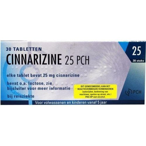 Pharmachemie Pharmachemie Cinnarizine 25 mg (30tb)