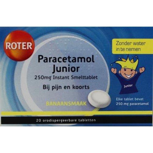 Roter Roter Paracetamol 250 junior (20tb)