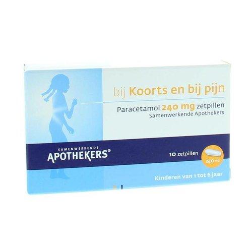 SAN SAN Paracetamol 240 mg (10zp)
