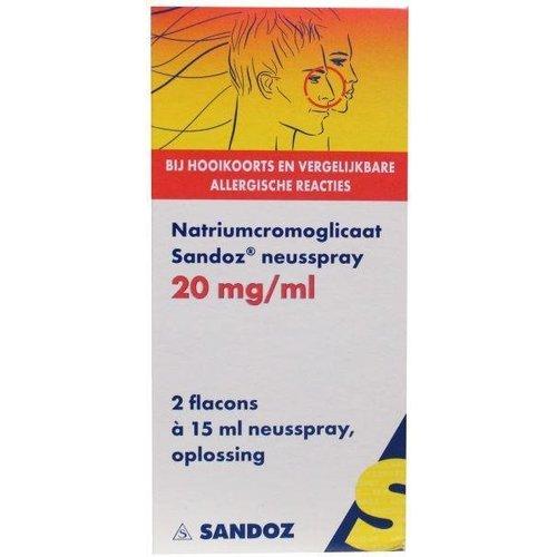 Sandoz Sandoz Cromoglicaatspray (30ml)