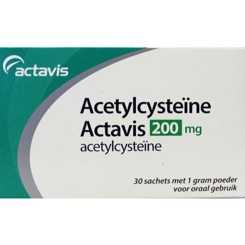 Sanias Acetylcysteine 200 mg (30sach)