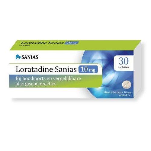 Sanias Sanias Loratadine 10 mg (30tb)