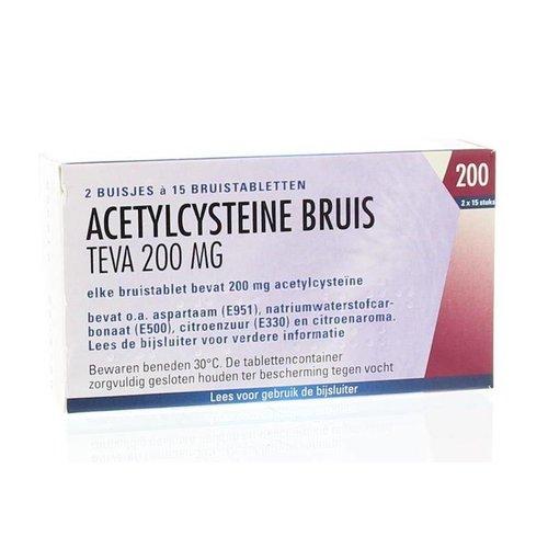Teva Teva Acetylcysteine 200 mg (30brt)