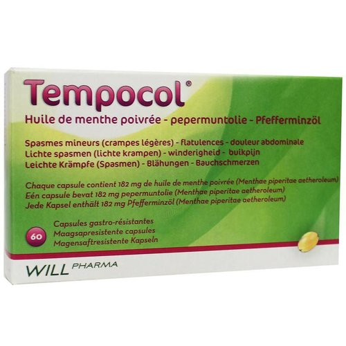 Will Pharma Will Pharma Tempocol (60ca)