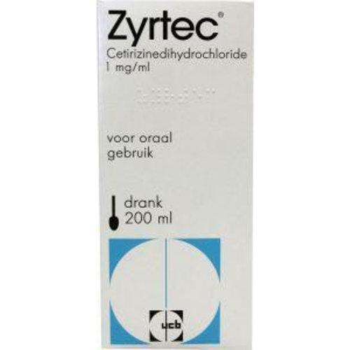 Zyrtec Zyrtec drank 1 mg/ml (200ml)