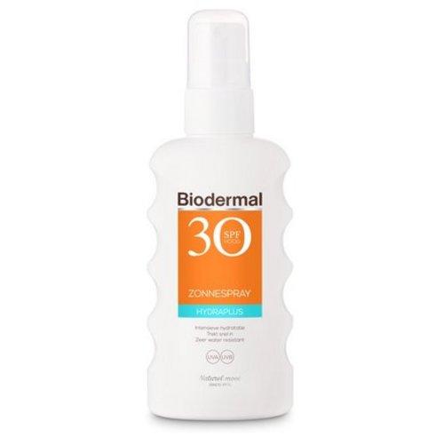 Biodermal Biodermal Hydra plus zonnespray SPF30 (175ml)
