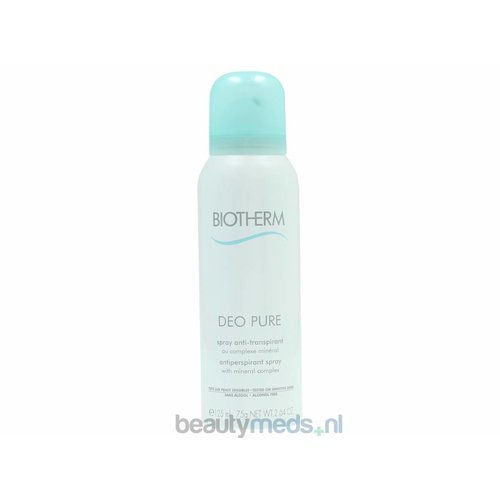 Biotherm Biotherm Deo Pure Antiperspirant Spray (125ml)