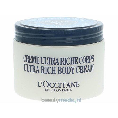 L'Occitane L'Occitane Shea Butter Ultra Rich Body Cream (200ml)