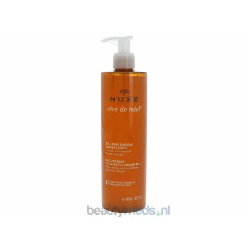 Nuxe Nuxe Reve De Miel Face And Body Cleansing Gel (400ml)