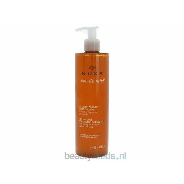 Reve De Miel Face And Body Cleansing Gel (400ml)