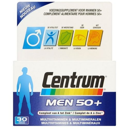 Centrum Centrum Men 50+ advanced (30tb)
