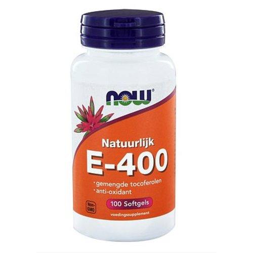 NOW NOW Vitamine E-400 gemengde tocoferolen (100sft)