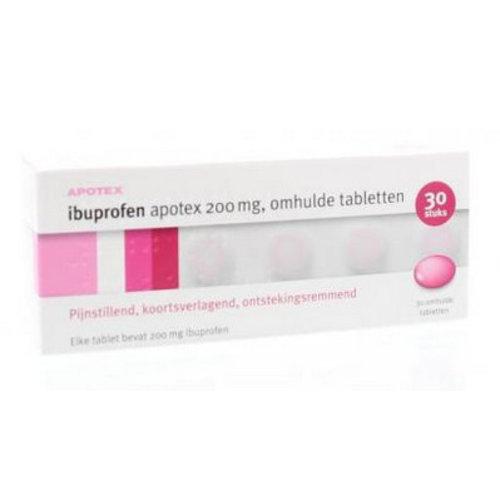 Apotex Apotex Ibuprofen 200 mg (30drg)