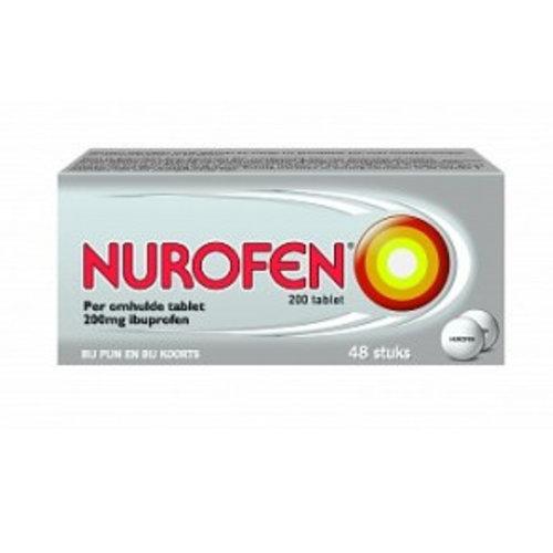 Nurofen Nurofen 200 mg Omhulde tabletten (48drg)