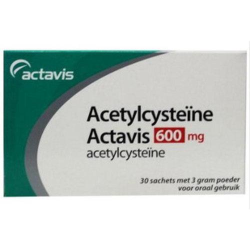 Sanias Acetylcysteine 600 mg sachets (30x3g)
