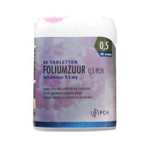 Pharmachemie Pharmachemie Foliumzuur 0.5 mg click (90tb)