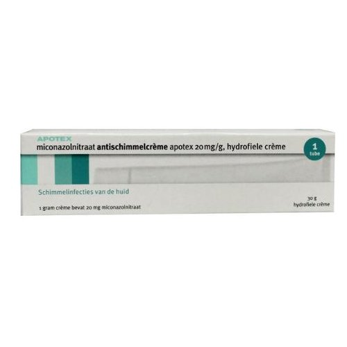 Apotex Miconazol 20 mg/g creme (30g)