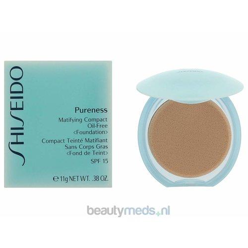 Shiseido Shiseido Pureness Matifying Compact Foundation SPF15 (11gr) #10 Light Ivory/Oil-Free