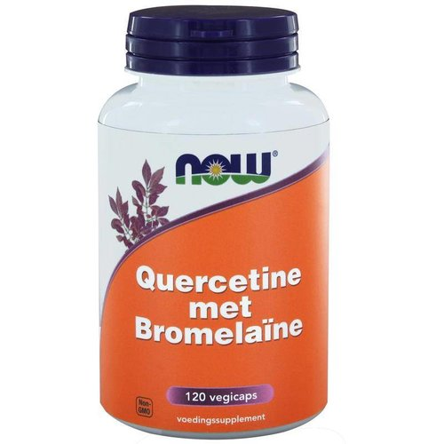 NOW NOW Quercetine met bromelaine (120 vcaps)