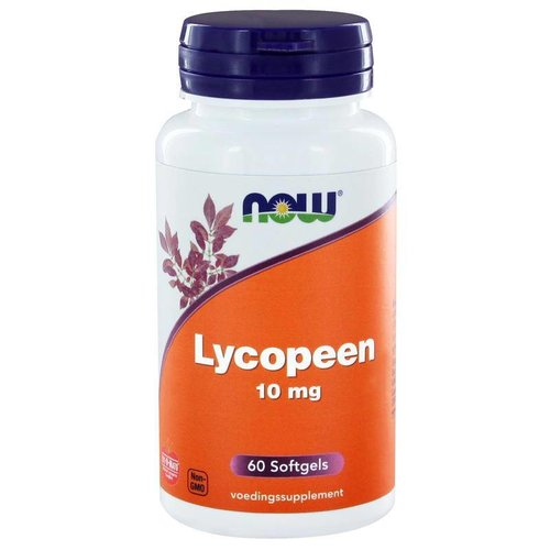 NOW NOW Lycopeen 10 mg (60 softgels)