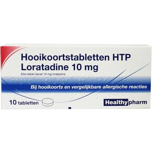Healthypharm Loratadine hooikoorts tablet Healthypharm (10 tabletten)