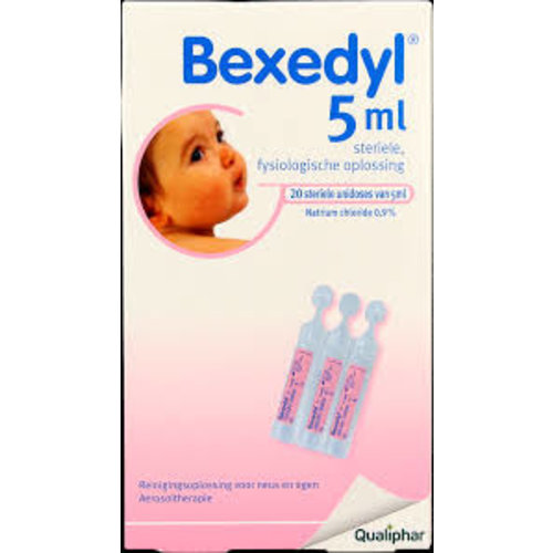 Bexedyl Bexedyl Zoutoplossing 5 ml (20x5ml)