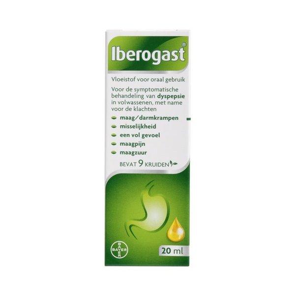 Iberogast Drank Bij Maag/Darmklachten met Bijsluiter (20ml)