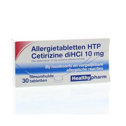 Healthypharm Cetirizine 10 mg (30tb)