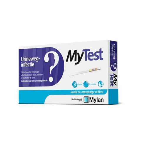 Mytest Zelftest Urineweginfectie (3st)