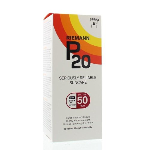 P20 Once a day factor 50 spray (200ml)