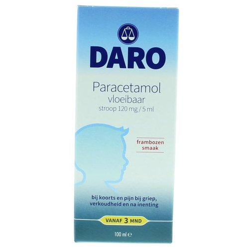 Daro Daro Paracetamol vloeibaar (100ml)
