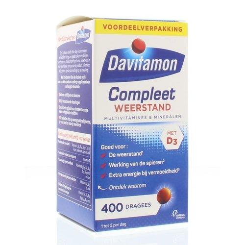 Davitamon Compleet weerstand (400drg)