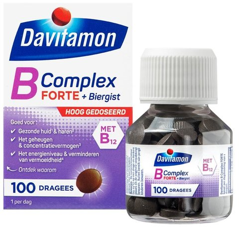Davitamon Vitamine B complex forte (100drg)