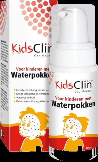 KidsClin Coolmousse Waterpokken (Beautymeds.nl)